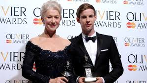 Helen Mirren and Luke Tradaway