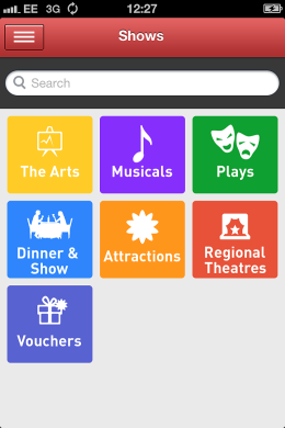 London Theatre App Shows