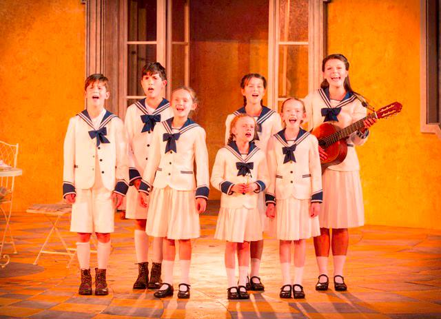 The Sound of Music Sailor outfits