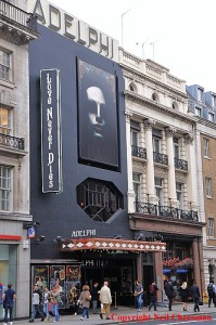 Adelphi Theatre Love Never Dies showing