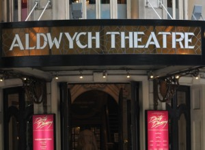 Aldwych Theatre with Dirty Dancing showing.