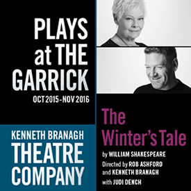 The Winter's Tale Kenneth Branagh and Judi Dench