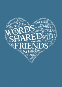 The album launch concert of Words Shared With Friends takes place at the Leicester Square Theatre Lounge on Sunday 13th April and the album is released on iTunes on 14th April.
