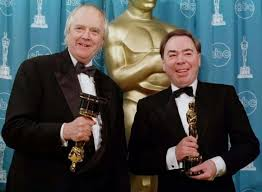 Tim Rice and Andrew Lloyd Webber