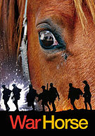 The West End production of War Horse is playing at the New London Theatre