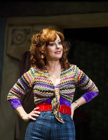 Mrs Wilkinson (Ruthie Henshall) in Billy Elliot the Musical. Photo credit Alastair Muir