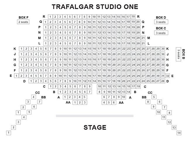 Trafalgar Studios One Seating Plan