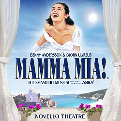 Mamma Mia! Musical Novello Theatre
