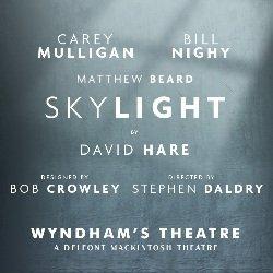 Skylight starring Bill Nighy and Carey Mulligan