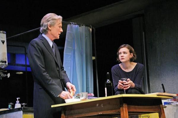 Bill Nighy (Tom Sergeant) and Carey Mulligan (Kyra Hollis), photo by John Haynes