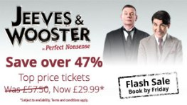 Jeeves and Wooster Flash sale