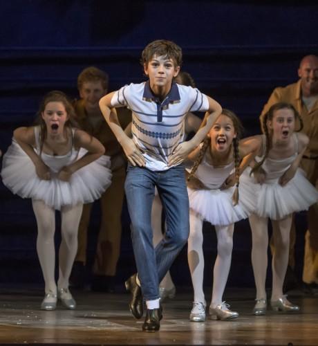 4.  Elliott Hanna (Billy Elliot) Billy Elliot The Musical Live, photo by Adam Sorenson