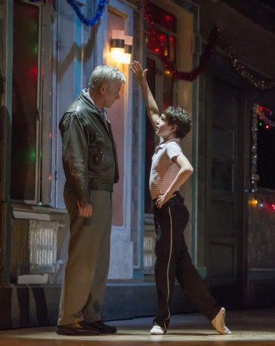 6. l-r Deka Walmsley (Dad), Elliott Hanna (Billy Elliot) Billy Elliot The Musical Live, photo by Adam Sorenson