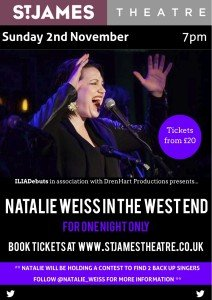 Natalie Weiss In The West End