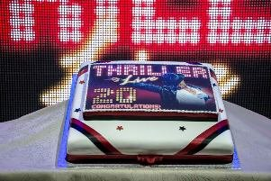 Thriller Live w0th Longest Running Musical Cake