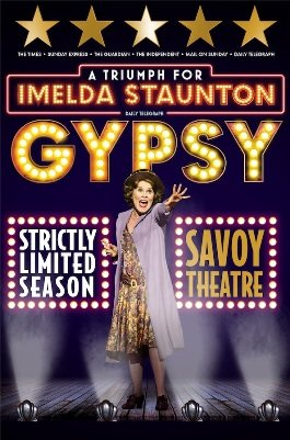 Gypsy Poster Savoy Theatre