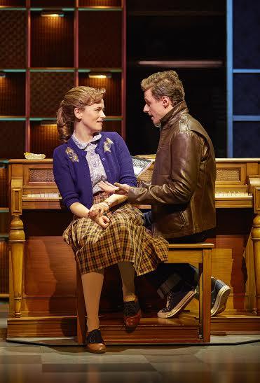 Katie Brayben (Carole King), Alan Morrissey (Gerry Goffin)