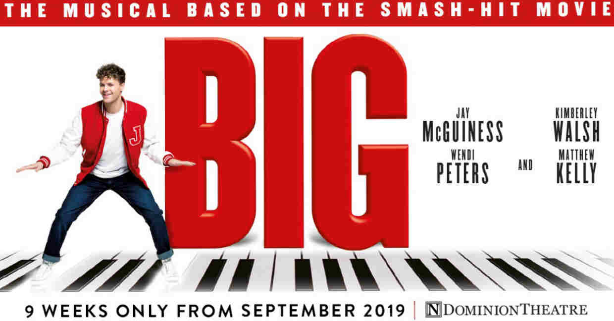 Full Cast Announced for Big The Musical at the Dominion Theatre