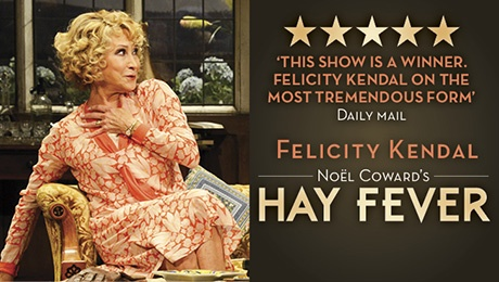 Hay Fever London play with Felicity Kendal