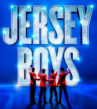 Jersey Boys London musical Poster