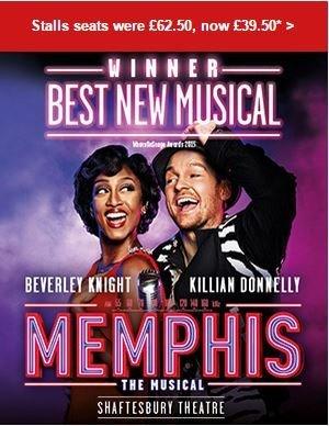 Memphis Musical June Offer