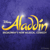 Aladdin on Broadway poster