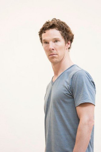 Benedict Cumberbatch (Hamlet) in rehearsal Photo credit: Johan Persson