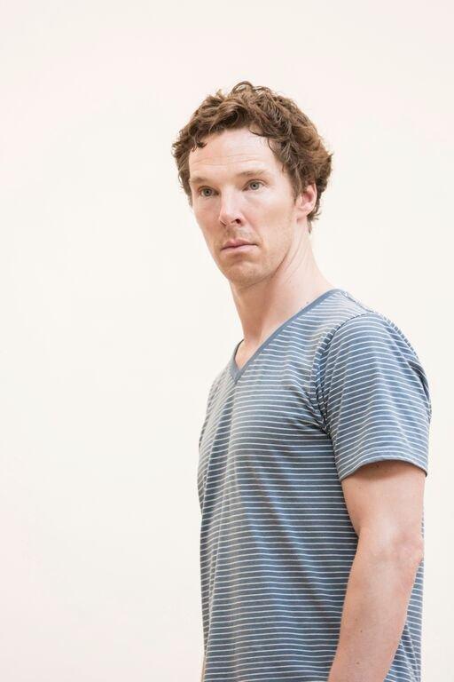 Benedict Cumberbatch (Hamlet) in rehearsal Photo credit: Johan Persson