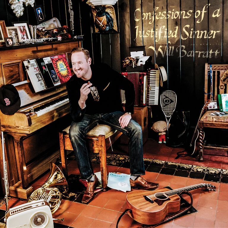 Confessions of a Justified Sinner is the debut solo album from Will Barratt, and is released on 10th August 2015
