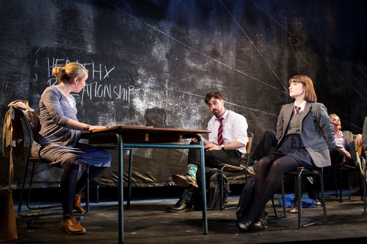 The cast of National Youth Theatre 2015 REP Season in Consensual
