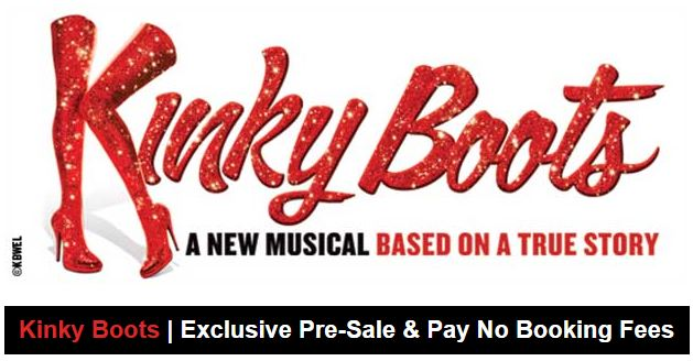 Kinky Boots No Booking Fee Offer