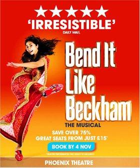 Bend It Like Beckham Ticket Offer