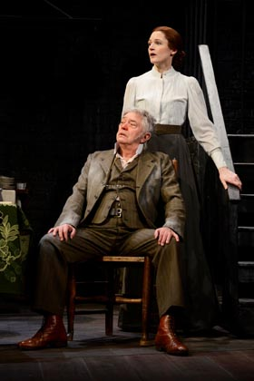 Hobson's Choice – Martin Shaw (Henry Hobson), Naomi Frederick (Maggie Hobson)