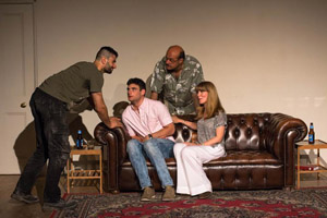 From Left to Right - Federico Moro (TRENT), Ivan Comisso (LIAM), Tino Orsini (FRANK), Virginia Byron (MAY)