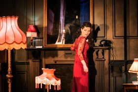 Kate Fleetwood as Christine, Absolute Hell (c) Johan Persson