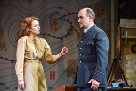 Laura Rogers & David Haig in Pressure. Photo by Robert Day