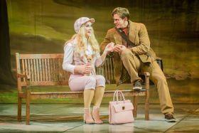Legally Blonde: Lucie Jones and David Barrett – Photo Robert Workman