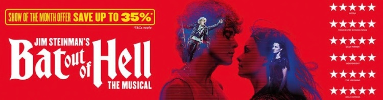 Bat Out of Hell the Musical Ticket Offer