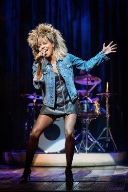 Adrienne Warren Tina Turner. Photo by Manuel Harlan