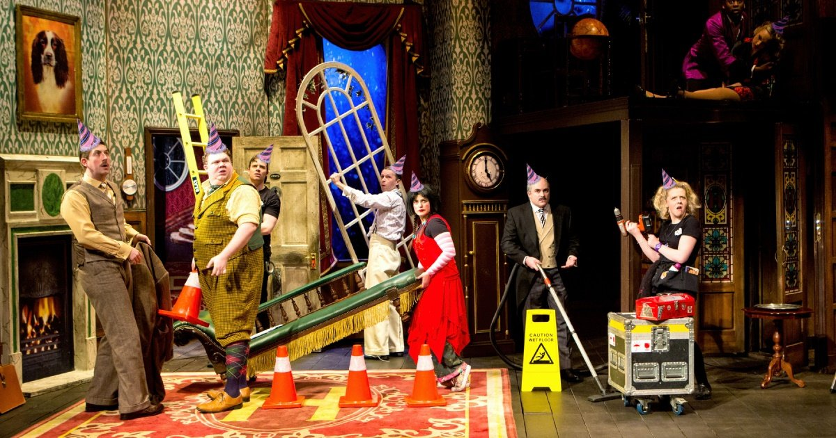 The Play That Goes Wrong 4th Birthday