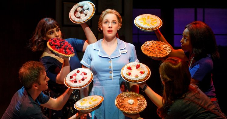 The original Broadway production of Waitress - Photographer Joan Marcus