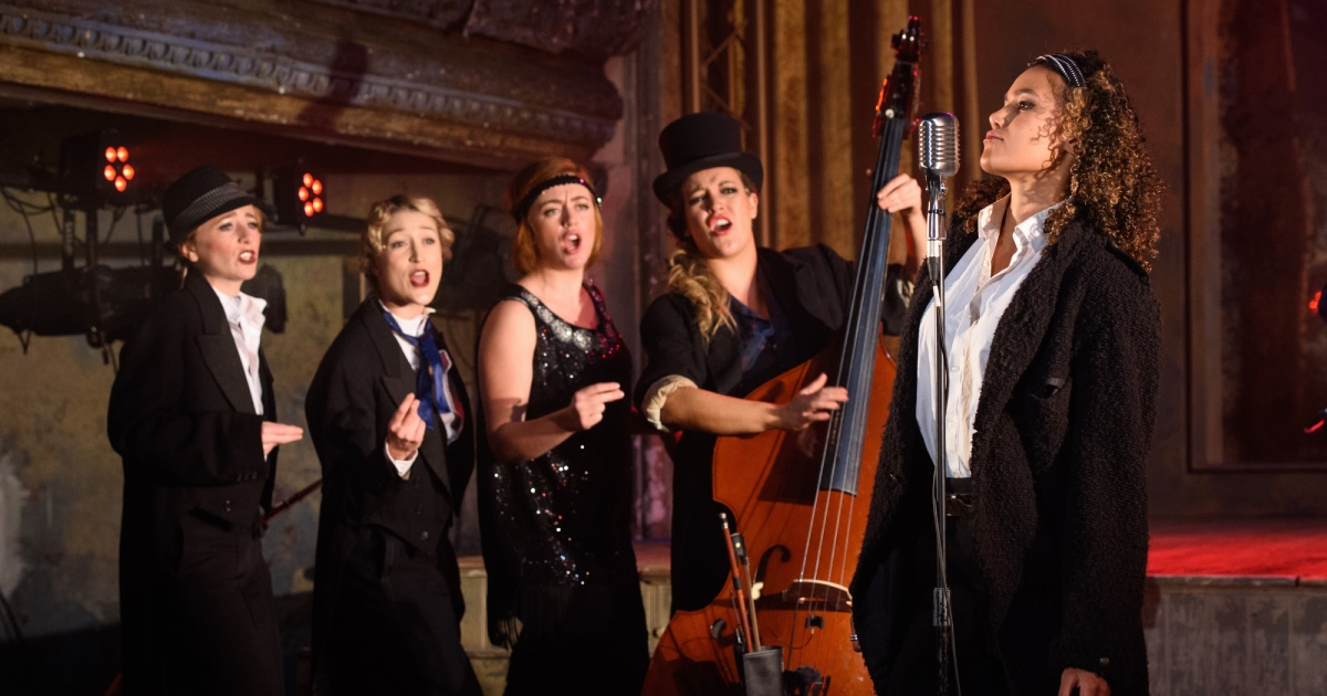 Twelfth Night at Wilton's Music Hall - Photo credit Matt Crossick
