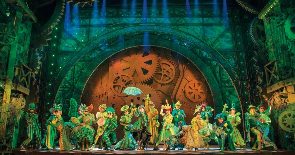 Wicked Apollo Victoria Theatre-photo by Matt Crockett
