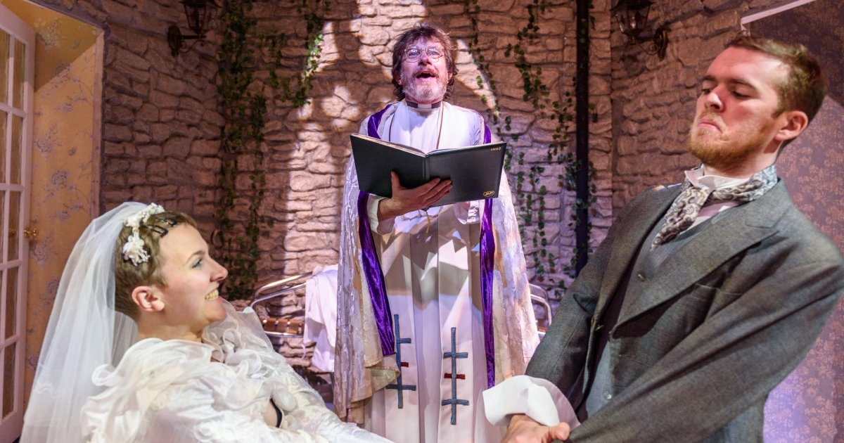 Waiting for God: Emma Mulkern, Keith Hill & Samuel Lane.