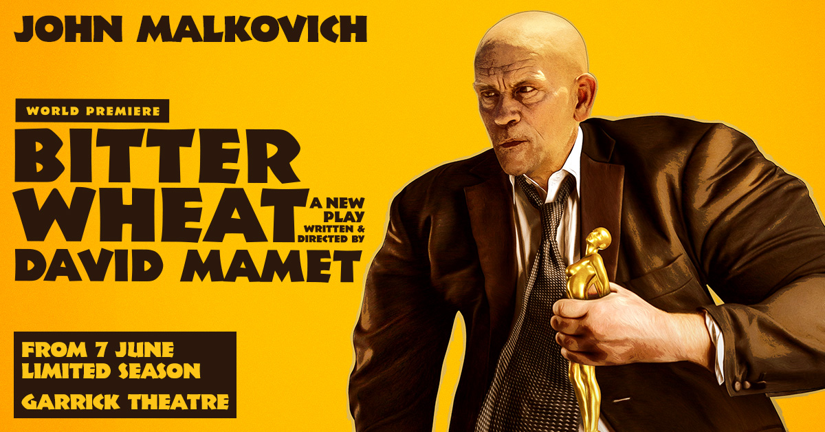 Bitter Wheat London Tickets – Bitter Wheat starring John Malkovich