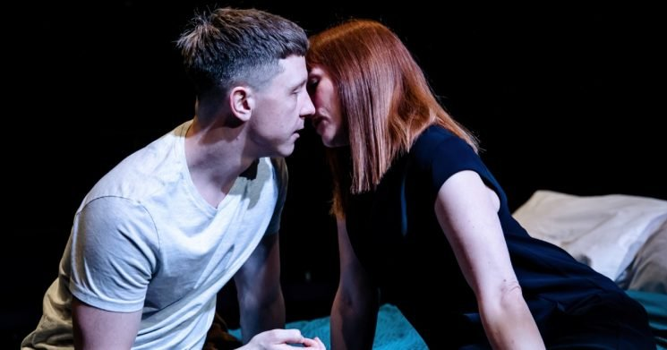 Cougar: Mike Noble and Charlotte Randle - Orange Tree Theatre - ETT - photo by The Other Richard.