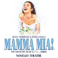 Mamma Mia Novello Theatre, London