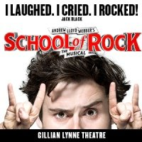 School Of Rock Gillian Lynne Theatre, London