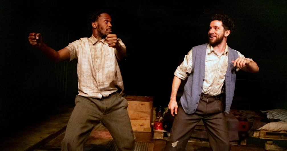 Kalungi Ssebandeke in BLOOD KNOT by Athol Fugard - Orange Tree Theatre - photo by Richard Hubert Smith.
