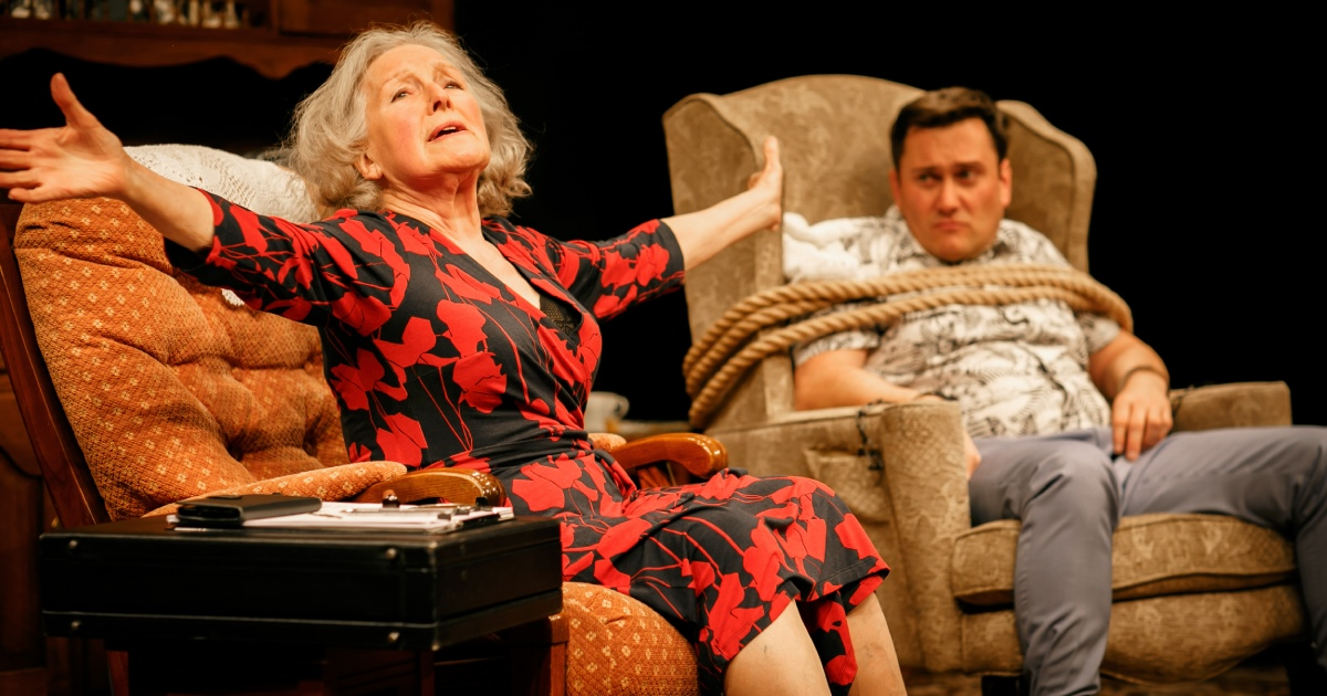 Beneath The Blue Rinse By Tom Glover at Park Theatre